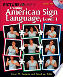 Picture Yourself Learning American Sign Language  Level 1
