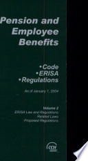 Pension and Employee Benefits  ERISA law and regulations  related laws  proposed regulations