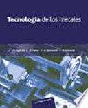 Tecnología de los metales para profesionales técnico-mecánicas