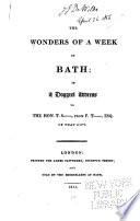 The Wonder of a Week at Bath