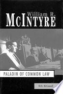 William R  McIntyre