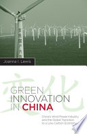 Green Innovation In China book