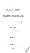 The Dramatic Works of William Shakespeare Book PDF