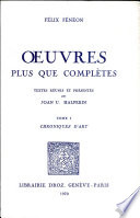Oeuvres plus que compl  tes