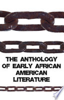 The Anthology of Early African American Literature