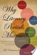 Why Literary Periods Mattered book