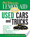 Lemon Aid Used Cars and Trucks 2010 2011