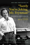 """cover img of """"Surely You're Joking, Mr. Feynman!"""": Adventures of a Curious Character"""