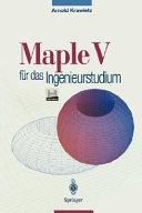 Maple V f  r das Ingenieurstudium