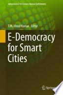 E Democracy for Smart Cities