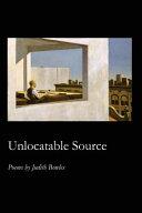 Unlocatable Source