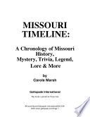 Missouri Timeline