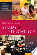 Master'S Level Study In Education: A Guide To Success For Pgce Students Pdf/ePub eBook