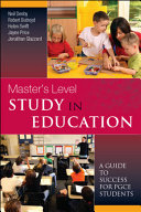 Master'S Level Study In Education: A Guide To Success For Pgce Students