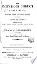 De imitatione Christi... multiplici lingua nume primo impressi...