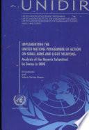 Ejecución del Programa de Acción de las Naciones Unidas en relación con las armas pequeñas y ligeras