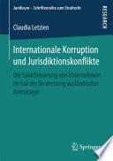 Internationale Korruption und Jurisdiktionskonflikte