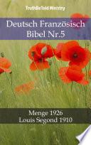 Deutsch Französisch Bibel Nr.5