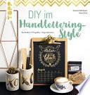 DIY im Handlettering Style