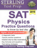 Sterling Test Prep SAT Physics Practice Questions