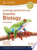 Cambridge Igcse O Level Essential Biology Student Book Third Edition