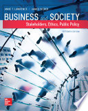 Business and Society  Stakeholders  Ethics  Public Policy