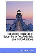 Il Novellino Di Masuccio Salernitano