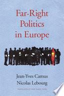 Far Right Politics In Europe