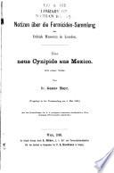 Notizen über die Formicidensammlung des British Museum in London