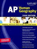 Kaplan AP Human Geography  2008 Edition