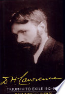 D H Lawrence Triumph To Exile 1912 1922 Volume 2