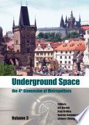 Underground Space – The 4th Dimension of Metropolises, Three Volume Set +CD-ROM