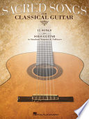 Sacred Songs For Classical Guitar Songbook