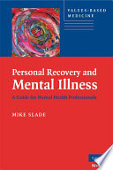 Personal Recovery And Mental Illness