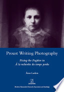 Proust Writing Photography