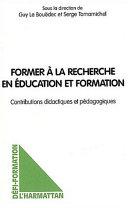 illustration Former à la recherche en éducation et formation