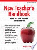 New Teacher S Handbook