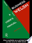 Business Welsh  A User s Manual
