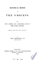 historical-memoir-of-the-o-briens