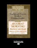 My People s Prayer Book  Traditional Prayers  Modern Commentaries  Vol  10