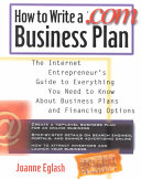 How to Write a  com Business Plan