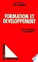 Formation et développement
