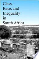 Class  Race  and Inequality in South Africa