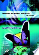 Learning Microsoft Word 2002