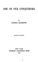 Novels  One of our conquerors