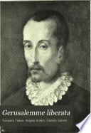 Gerusalemme liberata  Discorso sul testo  Bibliografia  Cinque Canti  di Camillo Camilli aggiunti al Goffredo  Rimario  Indice