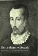 Gerusalemme liberata: Discorso sul testo. Bibliografia. Cinque Canti, di Camillo Camilli aggiunti al Goffredo. Rimario. Indice