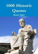 1000 Historic Quotes