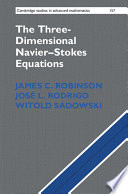 The Three Dimensional Navier Stokes Equations