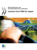 Strong Performers and Successful Reformers in Education Lessons from PISA for Japan